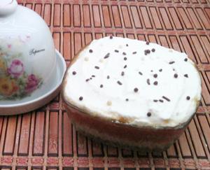 Диетический творожный десерт с тыквой