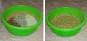 Кексы из цельнозерновой муки с семенами льна, подсолнечника и кунжута.