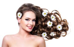 Полезные продукты для красоты, здоровья, укрепления и роста волос.
