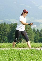 Ходьба с палками (скандинавская ходьба): польза и противопоказания.