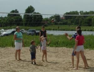 Активные игры с детьми – польза для здоровья взрослых.